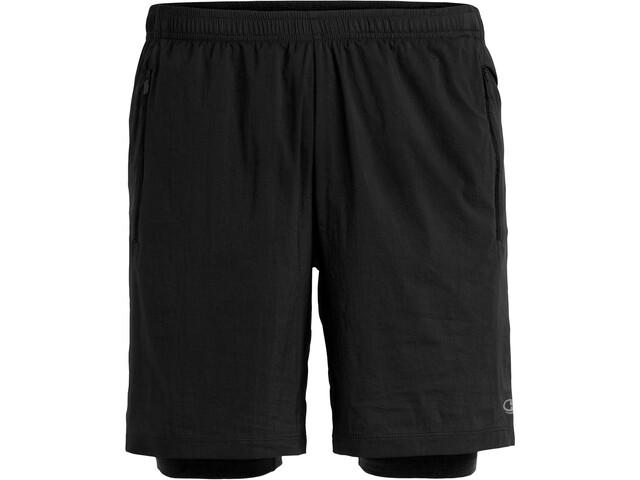 Icebreaker Impulse Training Shorts Heren, black